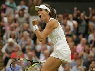 Kontová postúpila do štvrťfinále turnaja WTA v Nottinghame