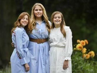 Holandská princezná sa na najbližšie roky vzdala apanáže