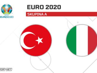 Turecko - Taliansko, ONLINE z ME vo futbale