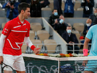 Novak Djokovič - Rafael Nadal: ONLINE zo semifinále Roland Garros 2021