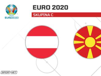 Rakúsko - Severné Macedónsko: ONLINE z ME vo futbale