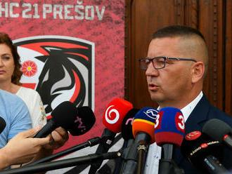 Domáci hráči mu neverili. Budú v Prešove pokračovať Ľuptákove incidenty?