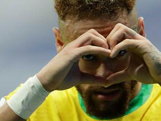 Brazília deklasovala Peru, Neymar je o gól bližšie Pelého rekordu