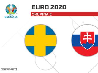 Slovensko - Švédsko: ONLINE z ME vo futbale