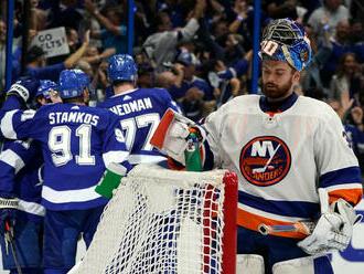 Newyorčania vybuchli. Tampa vyhrala v play off NHL nevídaným rozdielom