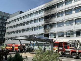 Požiar v košickej nemocnici spôsobil škody za minimálne 300-tisíc eur