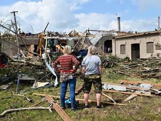 Peklo na južnej Morave: Spustošené obce sa dočkali potrebnej finančnej pomoci