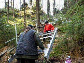Lidé mohou přispívat na turistické vybavení Národního parku České Švýcarsko