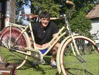 Sběratel z Jívoví na Ždársku má 180 předválečných bicyklů, rád by otevřel muzeum