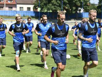 Fotbalisté Slovácka podlehli v Konferenční lize Plovdivu 0:1 gólem z 89. minuty