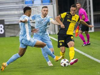 Slovan doma remizoval v predkole LM s Young Boys Bern 0:0