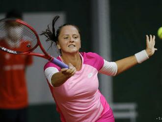 Kužmová prehrala v 2. kole na turnaji WTA v Gdyni so Zanevskou
