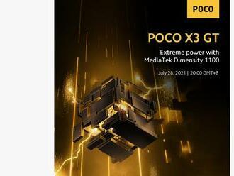 Poco X3 GT dostane čipset Dimensity 1100 a 65 W nabíjanie