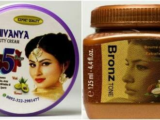Hygienici varujú pred škodlivou kozmetikou na zosvetlenie pokožky, môže spôsobiť kožné problémy