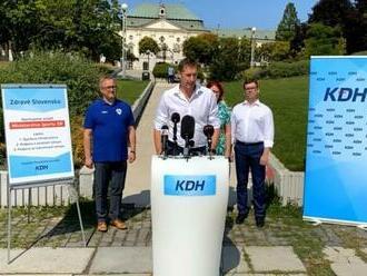 KDH navrhuje zriadiť samostatné ministerstvo športu, sľubuje si od toho aj záchranu ľudských životov