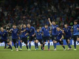 """11. júla rozhodli """"jedenástky"""": Titul európskych šampiónov získali Taliani"""