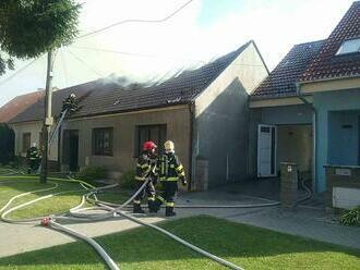 Požiar rodinného domu v Jaslovských Bohuniciach patrí k najväčším v Trnavskom kraji