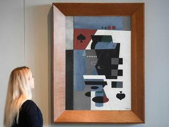Pikovou dámu od Toyen koupilo katarské muzeum, obraz zřejmě vystaví v Paříži