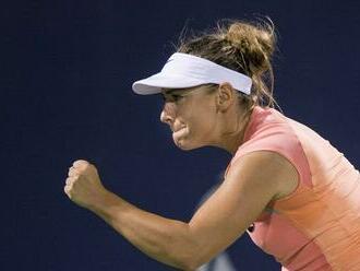 Kučová zničila Nemku a čaká ju prvé finále WTA. Pozrite si jej emotívny pozdrav