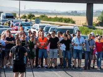 Hraničný priechod Čunovo-Rajka je po proteste a blokácii opäť priechodný
