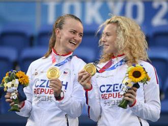 Krejčíková se Siniakovou mají z OH zlato, finále mužů vyhrál Zverev