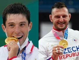 TK olympijských vítězů z Tokia Krpálka a Prskavce - video