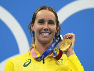 McKeonová jako první plavkyně získala sedm medailí na jedné olympiádě