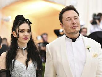 Elon Musk se rozešel se svojí přítelkyní, zpěvačkou Grimes
