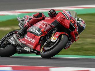 Salač nedokončil GP San Marina, poškodil motorku, MotoGP ovládl Bagnaia