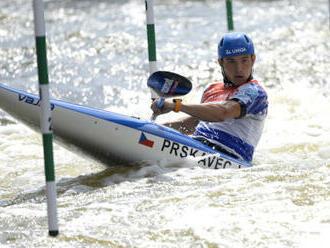 Vodní slalomáři Prskavec a Přindiš pojedou o světový titul