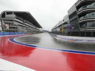 Kvůli dešti se v Soči nepojede třetí trénink F1, jistá není ani kvalifikace