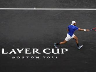 Tým Evropy vede po prvním dnu tenisového Laver Cupu 3:1