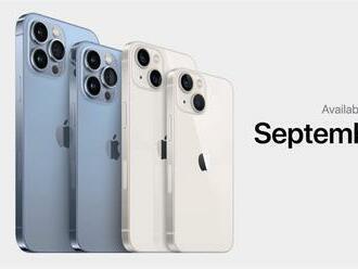 Dnes odštartovali predobjednávky na novú sériu Apple iPhone 13