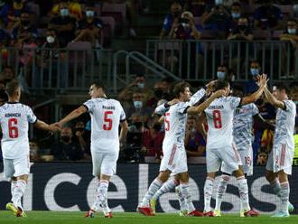 Futbalisti Bayernu opäť degradovali v Lige Majstrov Barcelonu, podľa Piquého jeho tím na viac nemá