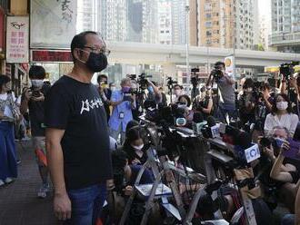 """Hongkonská skupina, ktorá pripomínala Tchien-an-men, sa """"dobrovoľne"""" rozpustila"""
