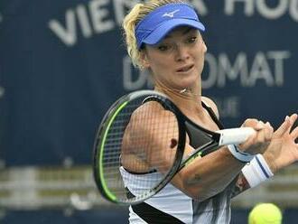 Kvitová jde v Ostravě dál. Martincová nestačila ve čtvrtfinále na Sakkariovou