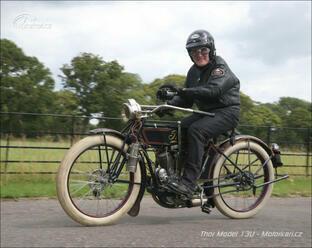 Thor Model 13U z roku 1913: Stovkou   bez brzd!