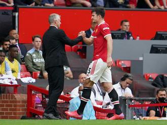 Manchester United prišiel o kapitána, Maguire si nezahrá niekoľko týždňov