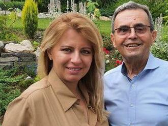 Po ťažkej chorobe zomrel otec prezidentky Čaputovej
