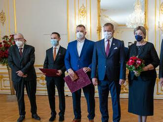 Hurbanovu cenu dostali Feldek, Sabaka i Hegerová