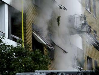 V Göteborgu vybuchol dom, najmenej 25 ľudí utrpelo zranenia