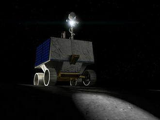 Vozítko NASA bude pátrať na Mesiaci po vode pri kráteri Nobile na južnom póle
