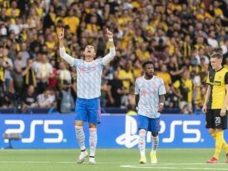 Cristiano Ronaldo oslávil vyrovnanie rekordu gólom: United však padli v Berne!