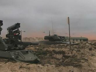 Ruská armáda prvýkrát ukázala v akcii bojovú jednotku zloženú z robotov
