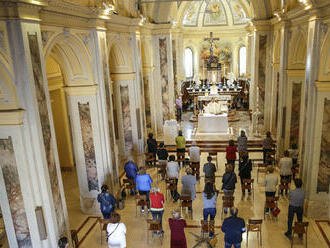 Katolíci na Slovensku slávia sviatok Sedembolestnej Panny Márie