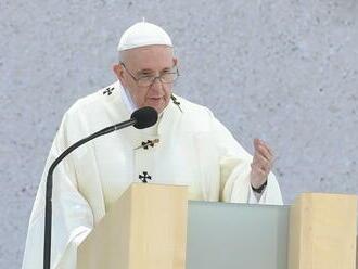Pápež František v Šaštíne odkázal Slovensku, aby sa prestalo hádať a ľudia začali viesť dialóg